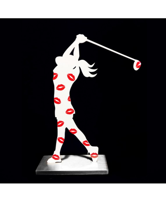 "GOLFEUSE SILHOUETTE ""BAISERS"""